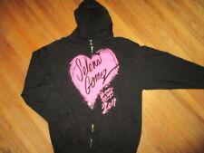 SELENA GOMEZ CONCERT HOODIE We Own Night 2011 Tour Sweatshirt Zipper Zip-Up MED