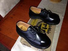 Vintage Dr Martens 1925 black steel toe shoes UK 3 EU 36 skin punk goth England