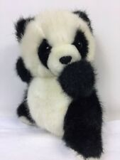 Russ Berrie Ping Panda Bear Caress Soft Pets 337 Plush Stuffed Animal Toy 7.5""