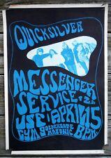 Vintage USF Quicksilver Messenger Service 1967 Concert Poster San Francisco