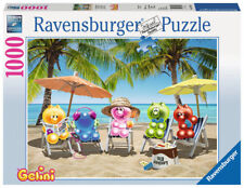 1000 teile Ravensburger Puzzle Gelinis Im Sommerurlaub 19701