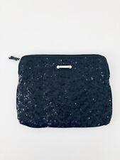 CASE Tablet Reader Kindle Purse NINE WEST Fashion Black Sequin Bag makeup