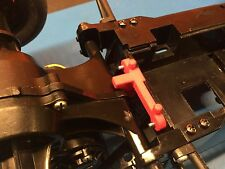 AMPro Tamiya Hornet Battery Retainer and Trans Brace, BLACK