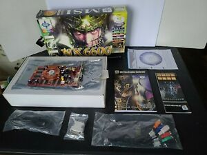 MSI NVIDIA GeForce 6600 Complete In Box Video Card Working