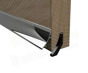 Aluminium Door Rain Water Weather Deflector Board UPVC timber weatherbar guard
