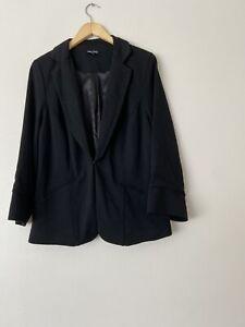 City Chic Size Small Black Blazer In Great Condition