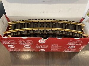 BRAND NEW 2021 LGB / MARKLIN 11000 BRASS CURVED TRACKS