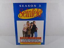 SEINFELD (TV SHOW)--SEASON 3--DVD SET (NEW)