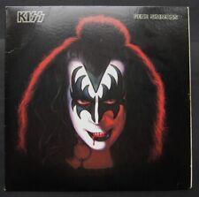 GENE SIMMONS (Kiss) Solo LP 1978 + Poster & Merch Leaflet VG/VG RARE!