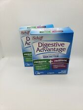 Lot of 2 Schiff Schiff Digestive Advantage 24 Count Exp 05/2020 *READ*