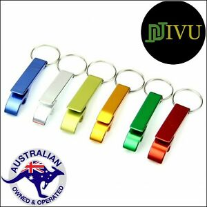 Bottle & Can Opener Aluminium Key chain Metal Beer Bar Tool Claw Gift Key Ring