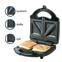 Premium Deluxe Multifuctional 2-Slice Sandwich Maker Stainless Steel decoration