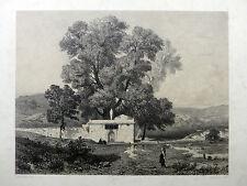 Lithographie de Jules Laurens - Orientalisme - 19e sicèle