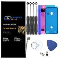 Extremecells Akku für Apple iPhone 8 + Werkzeug SET Batterie Accu 1821mAh