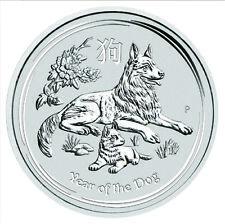 2018 Silver 1oz Lunar Dog Bullion Coin