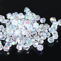 1000pcs 2/3/4mm Crystal Bicone Loose beads 5301 DIY Jewelry making
