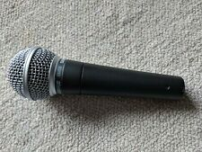 Used Shure SM58 mic microphone