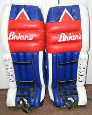 CLASSIC VINTAGE BRIAN'S 34 INCH M0DEL 90-SS GOALIE PADS