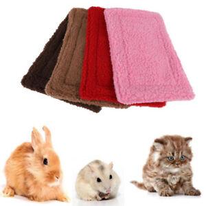 Pet Mat Guinea Pig Sleep Bed Small Animal Mat Puppy Fleece Blanket Rabbit Pad A