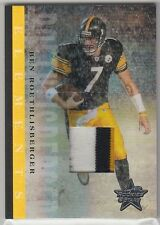 2006 Leaf Rookies & Stars Elements Jersey Special Edition Ben Roethlisberger 1/1