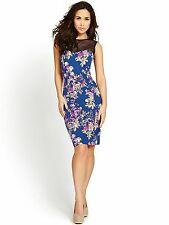 Cotton Scoop Neck Wiggle, Pencil Formal Dresses for Women