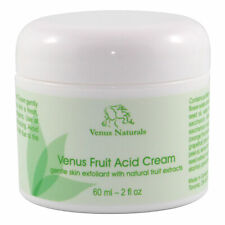 Venus Fruit Acid Cream Natural Skin Exfoliant 2oz Jar