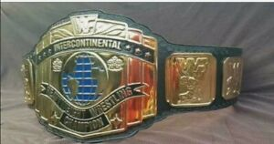WWF Intercontinental Heavyweight Wrestling Championship Belt Adult Size REPLICA