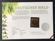 """Gold-Vignette 2012 """"Fichte"""" Serie Deutscher Wald"""
