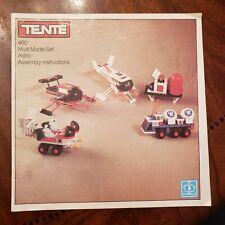 Vintage 1978 Hasbro Tente 460 Multi Model Set Astro Assembly Instructions book