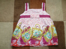 Kid's (4 yrs) Floral Themed Dress with Bow by John Lewis (Very Good Condition)