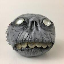 Creepy Zombie Head Terror Halloween Scary Bank OOAK