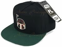 Funko Star Wars Futura Laboratories Target Exclusive Boba Fett Snapback Hat NWT