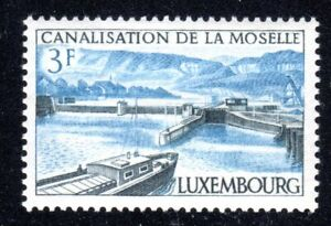 1964 Luxembourg SC# 410 - Opening of Moselle River Canal System - M-NH -1