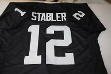 """KEN STABLER #12 SEWN STITCHED THROWBACK JERSEY SIZE XXL SB XI CHAMPS """"SNAKE"""""""
