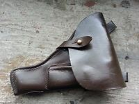 Original Russian Soviet TT-33 (Tulskiy Tokarev) leather TT pistol holster