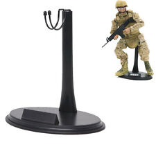 1/6 12 inches Action Figure Doll Base Display Stand U Type Detachable Black