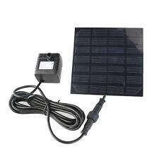 Solar-Powered Pump Solarteichpumpe Wasserpumpe Teichpumpe Gartenpumpe Pump