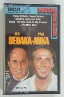 The Best of Neil Sedaka Paul Anka Cassette Tape 1987 RCA Ariola