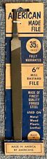 1950's American Made 6 Inch Mill File NOS
