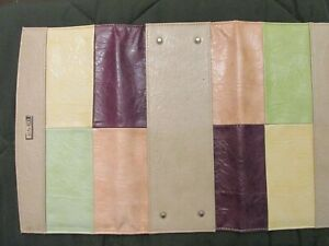 MICHE Classic Shell JAYNE May 2010 Retired Green Color Block ONLY EUC