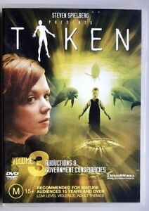 Taken - Volume 3 (Abductions & Government Conspiraices) [Spielberg] DVD (R4)
