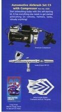 NEW! Iwata HP-CS Airbrush, Compressor, Video & Stencil Painting Kit