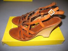 Circa Comfort 365 JOAN & DAVID Shoes Straps 10M  Leather New With Box