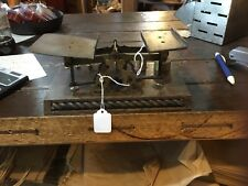 Antique Brass English Either Postal Scale Or Pharmacy Scale Nice Oak Bade