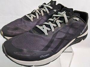 MERRELL Mens Bare Access Flex Connect J598327 Mesh Running Shoes 12 Black