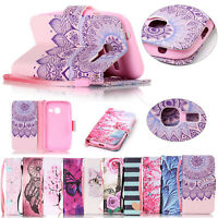 Leather Case Wallet Style Phone Soft Cover Stand Skin For Samsung Galaxy J1 Mini