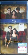 Twilight Saga: New Moon (Blu-ray, 2010, Ultimate Fan Edition) W/ Lenticular Slip