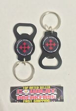 Mission Brewery San Diego Lot of (2) Metal Keychain Bottle Openers - Brand New!