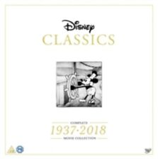 Disney Classics Complete Movie Collection 1937 2018 New DVD Box Set + Book