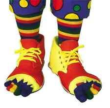 Clown Shoes Toe Sock Set Circus Birthday Fancy Dress Halloween Costume Accessory